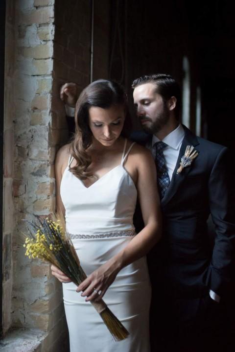 Lauren + Travis : A Wedding at Brazos Hall : Downtown Austin