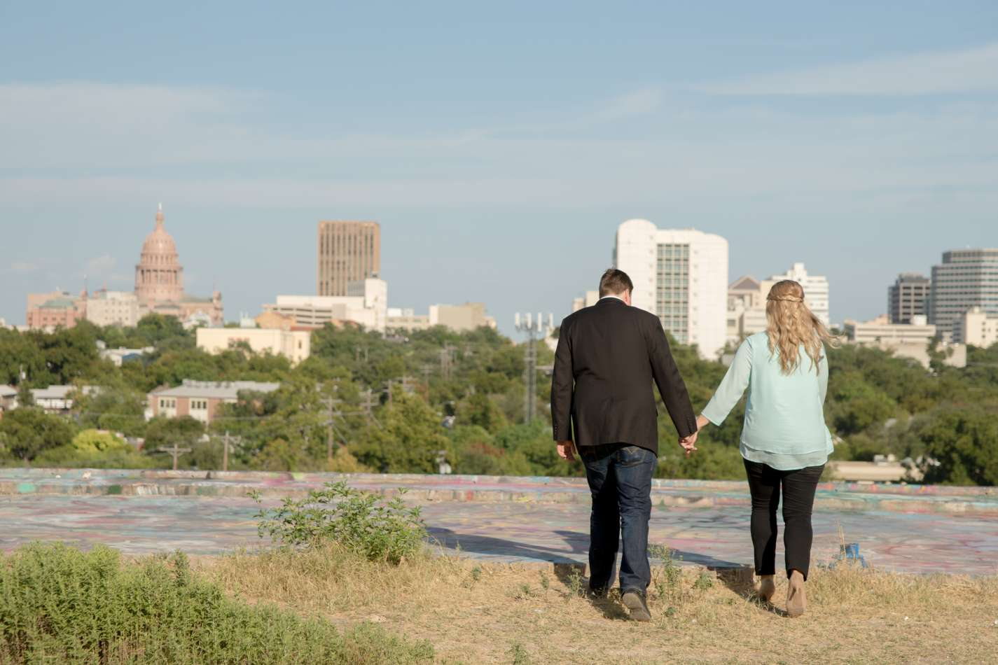 HighDot Studios - Jill and Sean - Engagement Session - Austin - Hope Outdoor Gallery - Long Center (7)