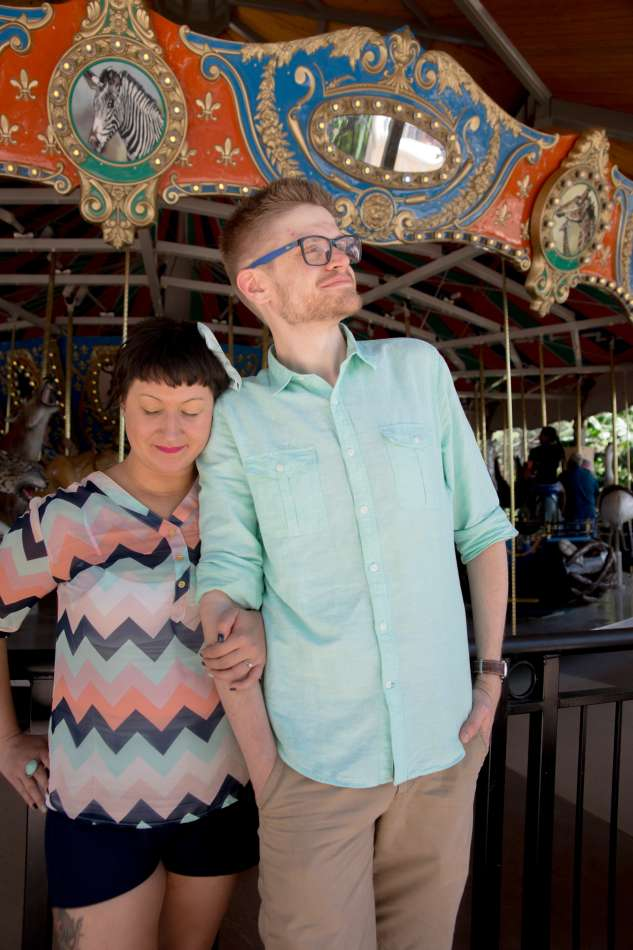 HighDot Studios - Sarah and Zach - Engagement Session - San Antonio - Riverwalk - San Antonio Zoo (28)
