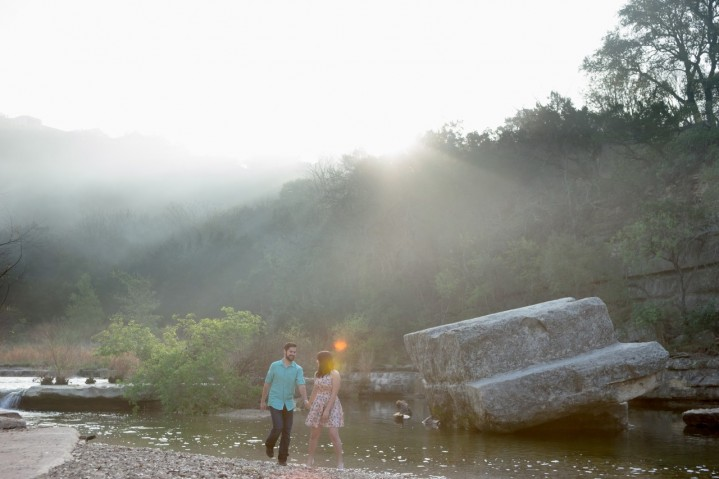 Tara + Taylor : An Engagement at Bull Creek Park
