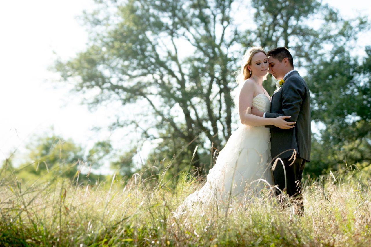 chrystal and issac were married at Ma Maison in Dripping Springs Texas